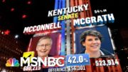 Mitch McConnell Expected To Win Kentucky Senate Race, NBC News Projects | MSNBC 3