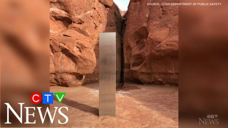 Mysterious monolith disappears from Utah desert 1