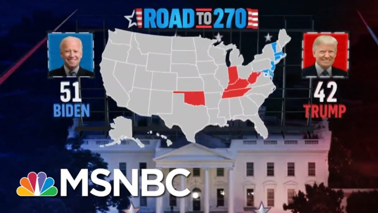 Biden Wins Connecticut And Trump Wins West Virginia, NBC News Projects | MSNBC 1
