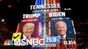 Trump Wins Tennessee, NBC News Projects | MSNBC 4