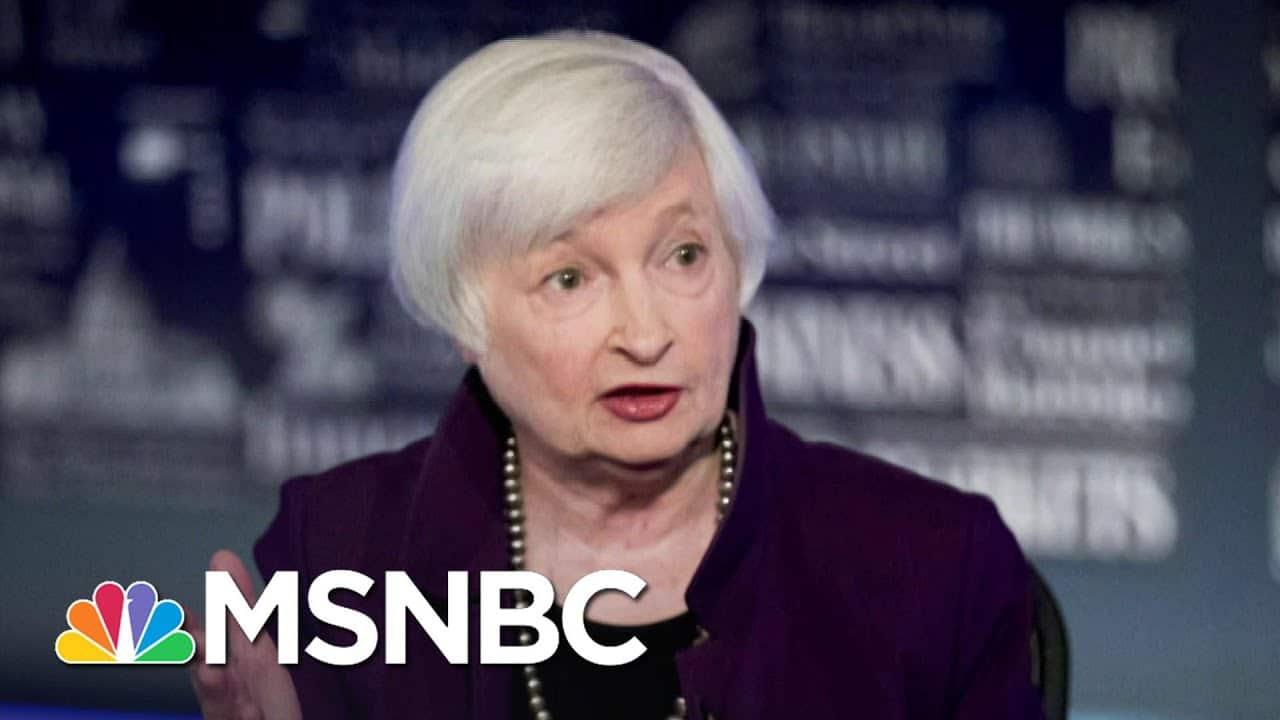 Biden Announces Nominations For Key Members Of His Economic Team   Stephanie Ruhle   MSNBC 7