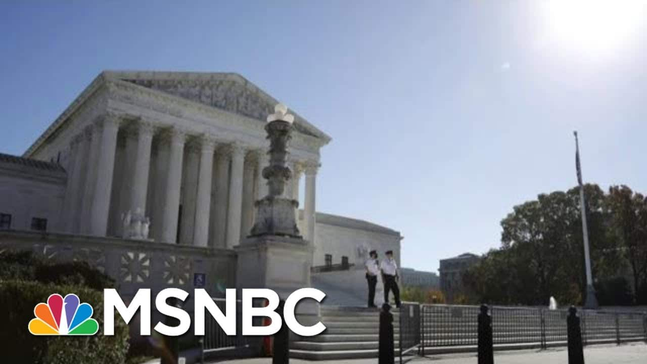 Supreme Court Hears Arguments In Case To Exclude Undocumented Immigrants From Census   MTP Daily 1