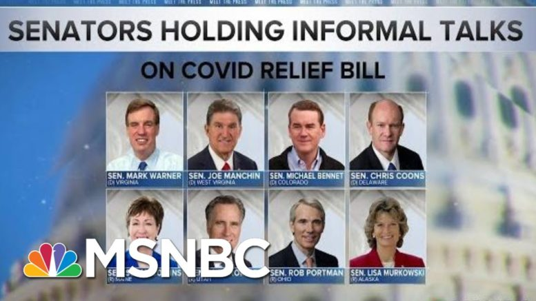 Congress Under Pressure To Pass Covid Relief Bill As Government Shutdown Looms | MTP Daily | MSNBC 1