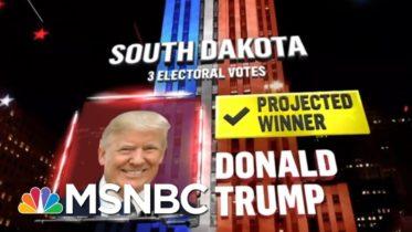 Trump Wins South Dakota, NBC News Projects | MSNBC 10
