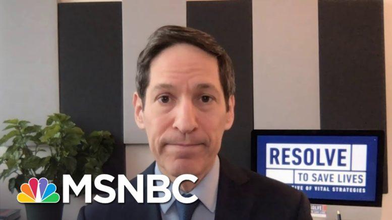 Former CDC Director Calls Covid Vaccine Progress 'Surprisingly Good News' | Katy Tur | MSNBC 1