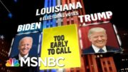 Biden Wins New York, NBC News Projects | MSNBC 4