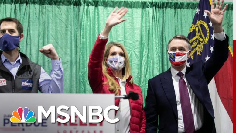 Both Republican Candidates In Georgia Runoffs Face Questions About Stock Trades | All In | MSNBC 1