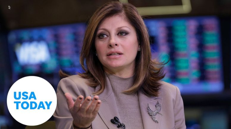 Fox News' Maria Bartiromo faces backlash for 'softball' interview with President Trump | USA TODAY 1