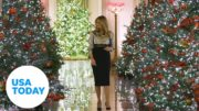 Melania Trump unveils White House Christmas decorations after controversy | USA TODAY 5