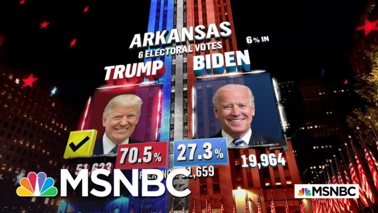 Trump Wins Arkansas, NBC News Projects | MSNBC 1