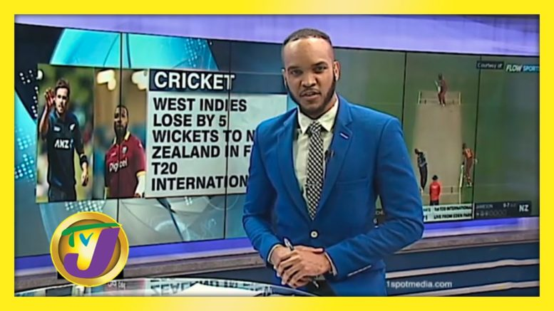 West Indies Beaten by New Zealand in 1st T20 International - November 27 2020 1
