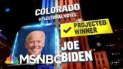 Biden Wins Colorado, NBC News Projects | MSNBC 4