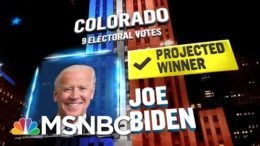Biden Wins Colorado, NBC News Projects | MSNBC 4