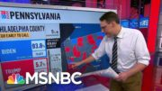 Kornacki Breaks Down Why Pennsylvania Results Will Take Time | MSNBC 2