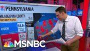 Kornacki Breaks Down Why Pennsylvania Results Will Take Time | MSNBC 5