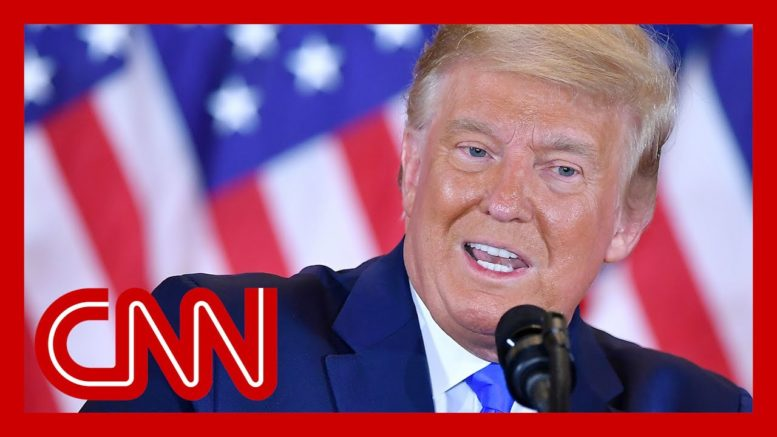 Trump calls to halt vote counting, prematurely declares victory 1