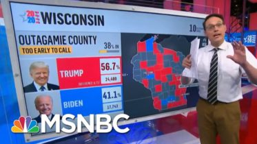 Kornacki: Biden Leads In Early Votes In Key Arizona County | MSNBC 5
