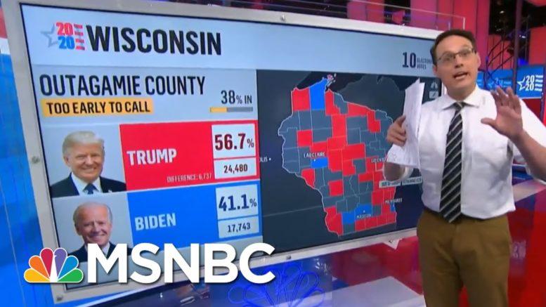 Kornacki: Biden Leads In Early Votes In Key Arizona County | MSNBC 1