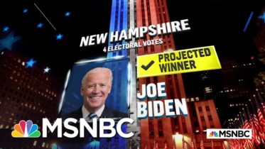 Biden Wins New Hampshire, NBC News Projects | MSNBC 6