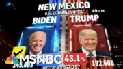 Biden Wins New Mexico, NBC News Projects | MSNBC 3