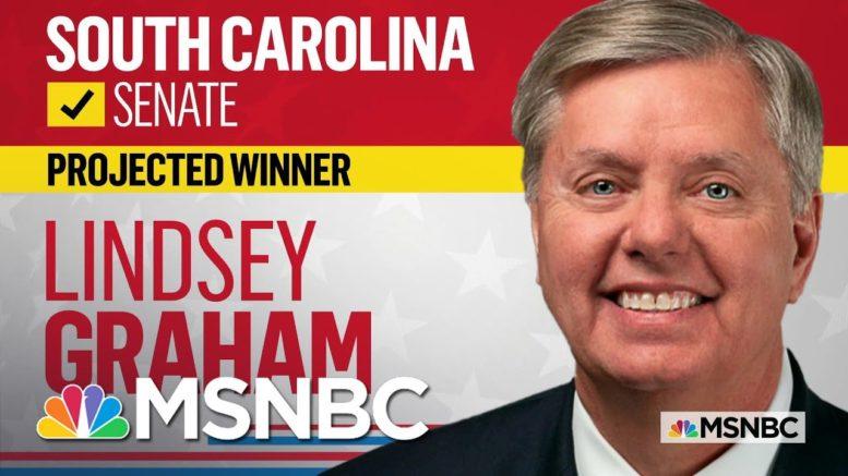 Lindsey Graham Wins South Carolina Senate Race, NBC News Projects | MSNBC 1