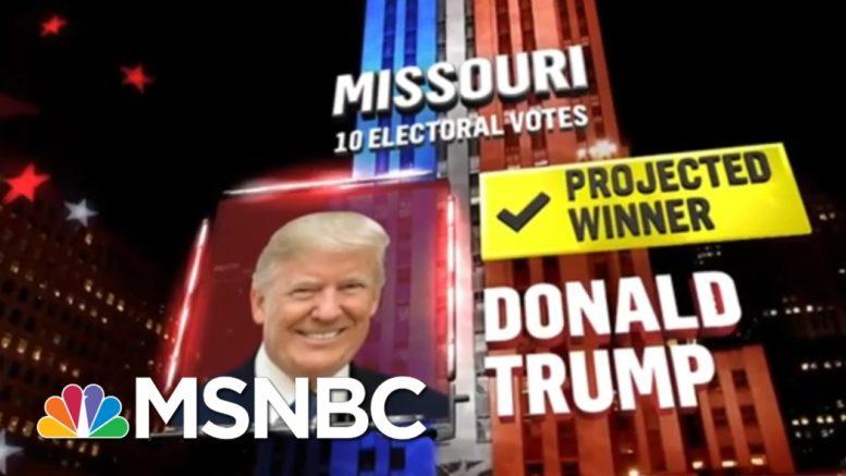 Trump Wins Missouri, NBC News Projects | MSNBC 1