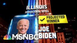 Biden Wins Illinois, NBC News Projects | MSNBC 8