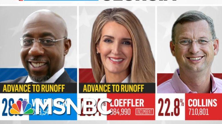 Warnock, Loeffler Set To Face Off In Georgia Senate Race Runoff | MSNBC 1