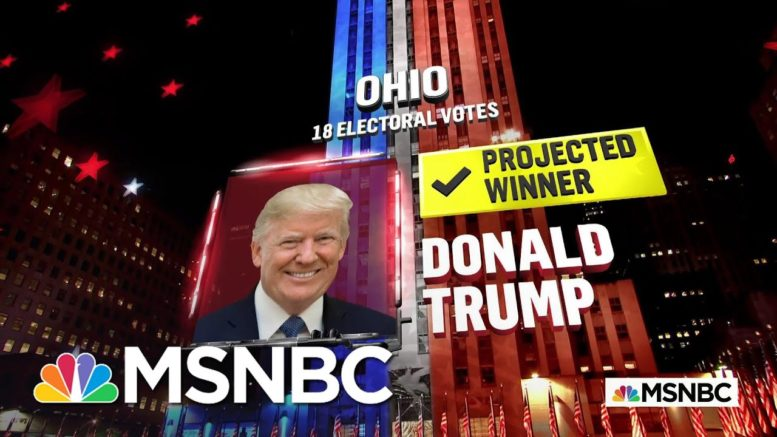 Trump Wins Ohio, NBC News Projects | MSNBC 1