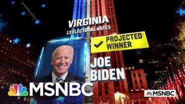 Biden Wins Virginia, NBC News Reports | MSNBC 6
