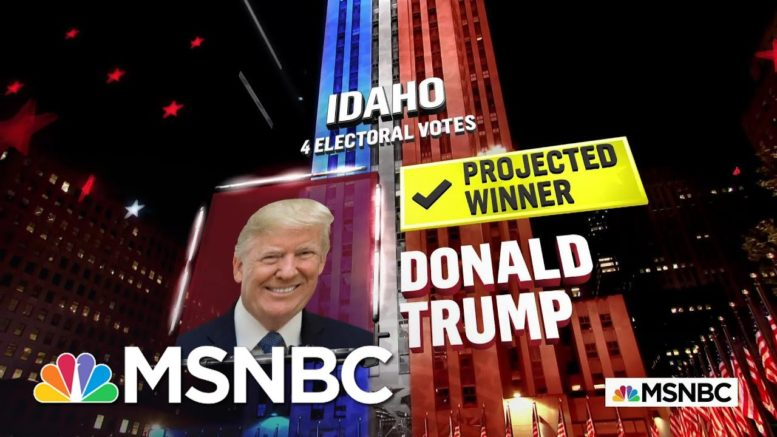 Trump Wins Idaho, NBC News Projects | MSNBC 1