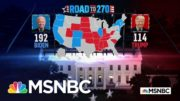 Biden Wins California, Oregon, And Washington, NBC News Projects | MSNBC 5