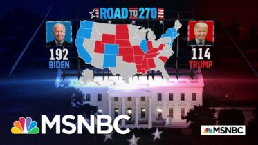 Biden Wins California, Oregon, And Washington, NBC News Projects   MSNBC 6