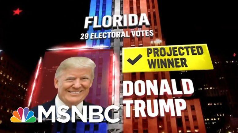 Trump Wins Florida, NBC News Projects | MSNBC 1