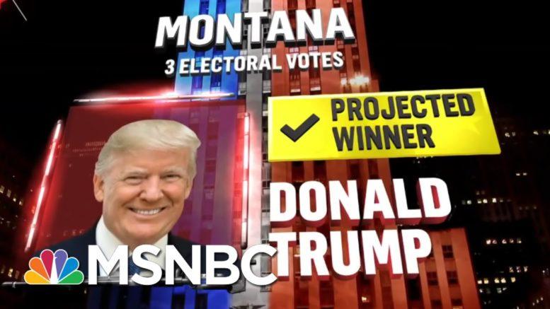 Trump Wins Montana, NBC News Projects | MSNBC 1