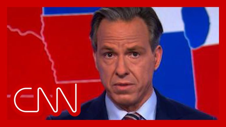 'Shockingly disappointing:' Tapper rebukes Trump's election speech 1