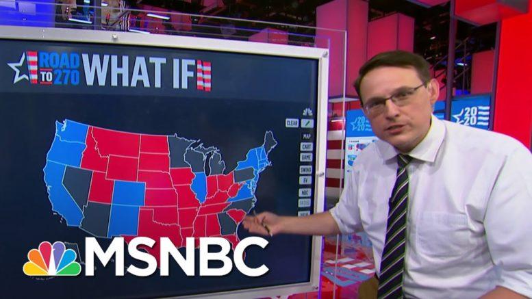 Kornacki Breaks Down Remaining Biden, Trump Paths To Victory | MSNBC 1
