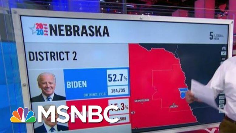 Biden Will Win 1 Electoral Vote In Nebraska, NBC News Projects | MSNBC 1