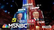 Biden Wins Hawaii, NBC News Projects | MSNBC 3