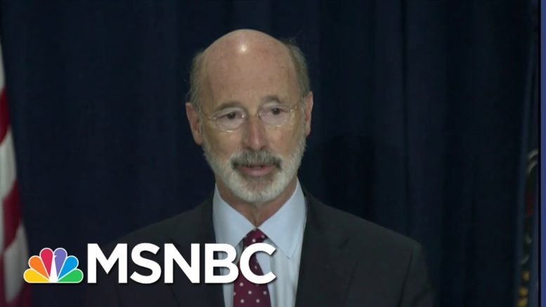 Pennsylvania Governor Says Votes Still Being Counted, May Not Know Results Today | MSNBC 1