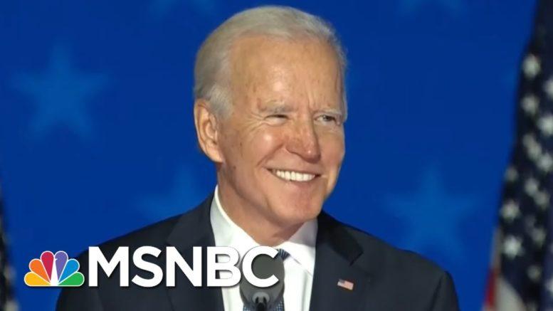 NBC News Projects Biden Will Win Maine | MSNBC 1