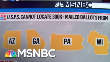 USPS Fails To Meet Deadline To Permit Search For 300,000 Missing Mailed Ballots | MSNBC 10