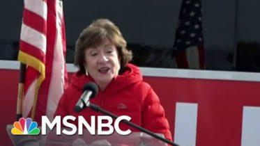 Sarah Gideon Calls Susan Collins To Concede In Maine Senate Race   MSNBC 6