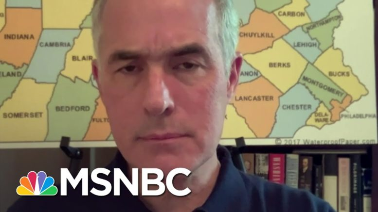 Sen. Bob Casey On The State Of The Race In Pennsylvania | Craig Melvin | MSNBC 1