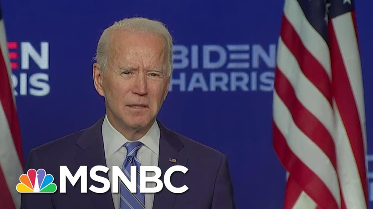 Nicolle Wallace Says Biden's Address Was A Window Into The Tone He Would Try To Set In A Transition 7