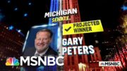 Gary Peters Expected To Hold Michigan Senate Seat, NBC News Projects | MSNBC 4