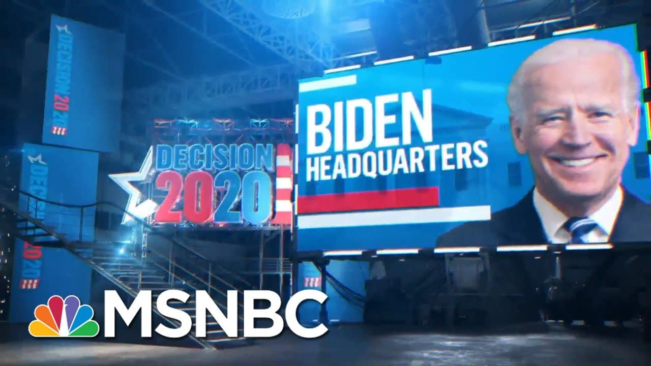 'We've Executed The Campaign Plan': Biden Campaign Anticipates Victory | MSNBC 7