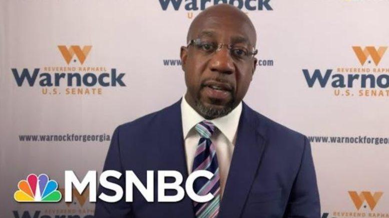 Warnock Hopes Focus On 'Struggles Of Ordinary People' Will Bridge Racial Divide In Georgia | MSNBC 1