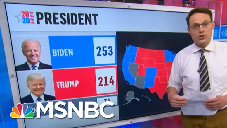 Kornacki Shows Biden's Paths To 270 And Trump's Uphill Fight | The 11th Hour | MSNBC 1