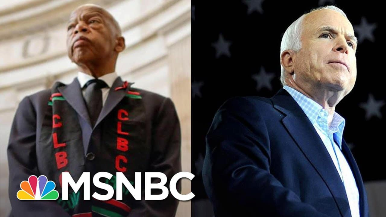 John Lewis, John McCain Loom With Georgia And Arizona Undecided   The 11th Hour   MSNBC 8